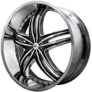 20 Gianna Envy Rims Wheels Nissan 350Z 370Z Infiniti G35 Coupe Ford