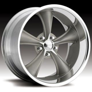Boss Motorsports style 338 wheels rims, 18x8 front+18x9.5 rear, 5x4.5