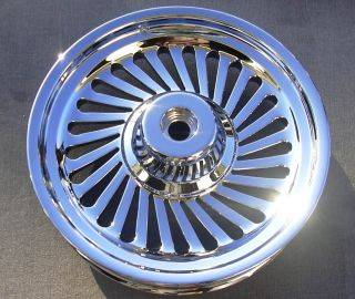 Fatboy Custom Cut Turbine 2007 Chrome Wheels Rims Exchange Sale