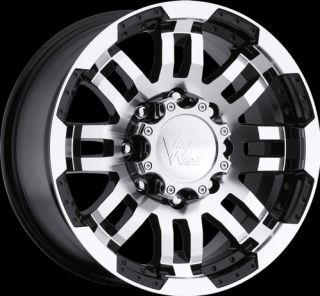 16 Vision Warrior Black Machined Wheels Rims 6x5 5 6x139 7 6 Lug