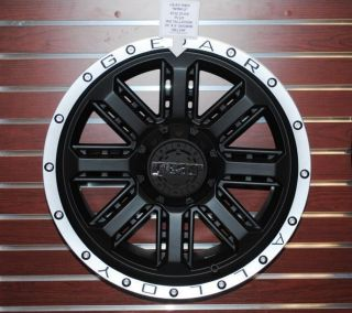 Black Wheels 6 Lug 6x139 7 5 5 6x135 Chrome Rims Ford Chevy
