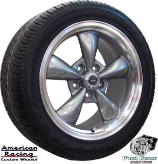 17x9 AMERICAN RACING TORQ THRUST WHEELS RIMS & TIRES CHEVY C4 CORVETTE