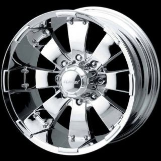 HULK 755 CHROME 8X170 FORD F250 F350 SUPER DUTY EXCURSION WHEELS RIMS