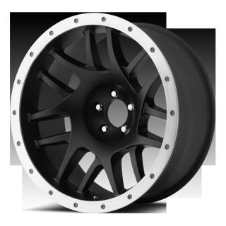 17 Wheels Rims XD Bully Satin Black Explorer Wrangler Ranger Mustang