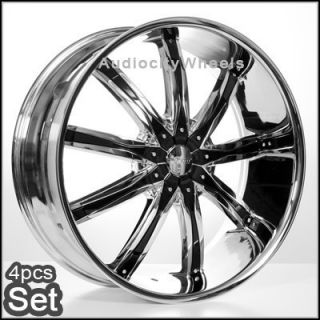 24 inch Wheels Rims Chevy Ford Escalade Almada Tahoe H3