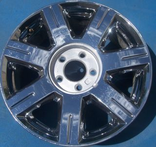 2006 2007 CADILLAC DEVILLE DTS 17 FACTORY OEM WHEEL RIM CHROME 4601