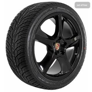 Porsche 2012 Cayenne s GTS Techno Black Wheels Rims and Tires