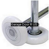 of 10 Garage Door Rollers Wheels Nylon 13 Ball Bearing SEALED