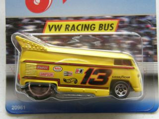 Hot Wheels JIFFY LUBE VW RACING #13 DRAG BUS Spec Ed. Volkswagen USA