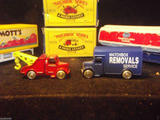 Matchbox Lesney Hotwheels 17A and 13 Trucks Lesney New in Boxes