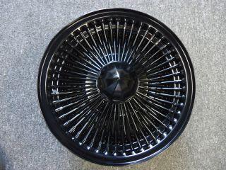 14 Dayton Black 14X7 Wire Wheels Full Set Rims New Knockoff 100 Spoke