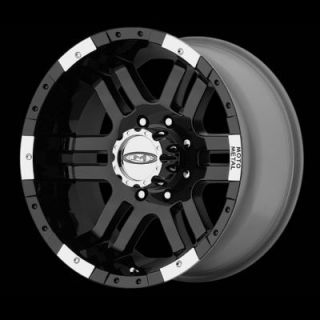 18 inch Black 8 Lug Wheels 8x170 Rims Moto 951 Ford F250 F350 Truck