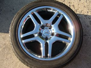 MERCEDES OEM S65 S55 S500 S430 S350 CL600 CL500 CL55 WHEELS RIMS TIRES