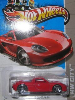 004 PORSCHE CARRERA GT 13 HOTWHEELS HOT WHEELS HW CITY RED HTR MINT