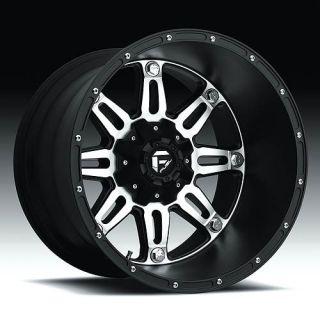 Hostage Wheel Set XD Black 24x11 Rims 24inch Black Machined