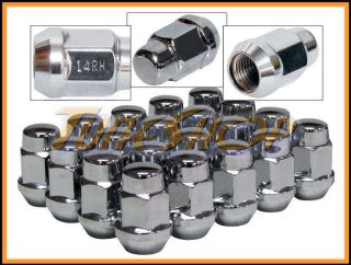 20 Bulge Acorn Wheels Rims Lug Nuts 14x1 5 M14 14 1 5 Closed End