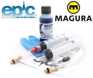 Epic Magura Rim Bleed Kit Royal Blood Mineral Oil HS 11 HS 33 FIRM