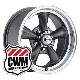 15x7 15x8 Charcoal Gray Wheels Rims 5x4 75 for Chevy S10 Blazer 2WD