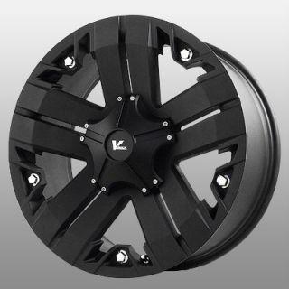17 inch V Rock Recon Black Wheels Rims 6x5 5 Avalanche C 2500 Colorado