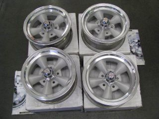 American Racing Torq Thrust Wheels Chevy 14x6 Restored Original set of