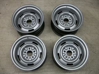 1969 Corvette Matched Set 15 AZ Rally Wheels Ralley Rims 1970 1971