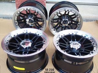 14 Polaris RZR ITP SS216 Aluminum ATV Wheels New Set 4 Lifetime