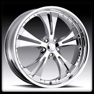 15 x 6 5 Vision 539 Shockwave Chrome 5x100 Jetta Wheels Rims 15 inch