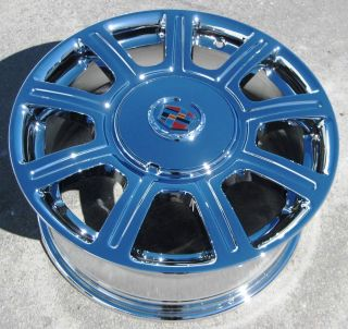 17 Factory GM Cadillac DeVille DTS cts Chrome Wheels Rims