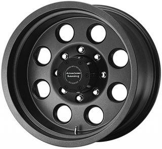 15 inch 15x8 ATX Mojave Black Wheels Rims 6x5 5 6x139 7