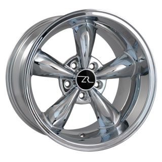 Dish Mustang ® Bullitt Wheels 17x10 5 Bullet 17 inch Rear Rims