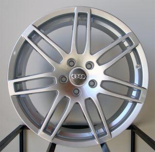 19 RS4 Wheels Rims Fit Audi A4 S4 B5 B6 B7