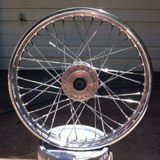 21 inch Chrome Spoke Sportster Wheel for Harley