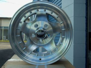 New American Racing AR23 Rims 15x7 Set of 5 Great Deal