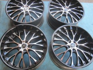 22 Lorenzo Wheels Rims Chrysler 300 Dodge Charger Magnum Bolt Pattern