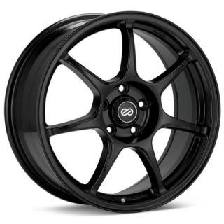 17 Enkei Fujin Black Rims Wheels Celica Corolla Prius