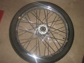 2006 Harley Davidson 21 Deuce Chrome 40 Spike Wheel H D Tire