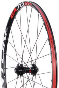2011 Easton EA70 XC 26 Mountain Bike Wheels Black Rims