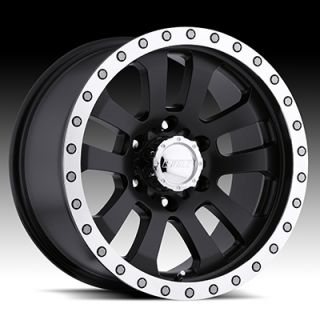 AMERICAN EAGLE WHEELS BLACK WITH MACHINED LIP F150 NAVIGATOR FORD RIMS