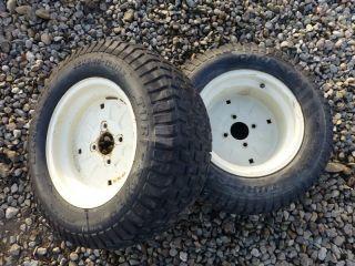 Cub Cadet SLT1550 Tractor Carlisle 22x9 50 12 Rear Tires Rims
