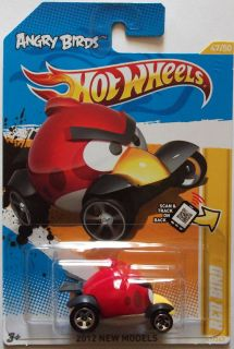 2012 Hot Wheels New Models Red Bird Angry Birds 47 50
