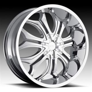 30 VCT Wheels Godfather Chrome Rim Tire Delta 88 LeSabre Caprice