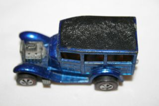 Vintage 1968 Hot Wheels Red Line Classic 31 Ford Woody Blue