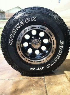 Set of 4 4X4 Wheels & Tires 31 X 10.50R15 LT Hankook DynaPro ATM 15x10