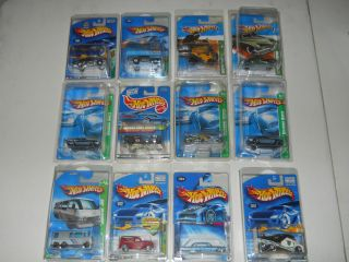 HOT WHEELS TREASURE HUNT SUPER TREASURE HUNT LOT COLLECTION RUBBER