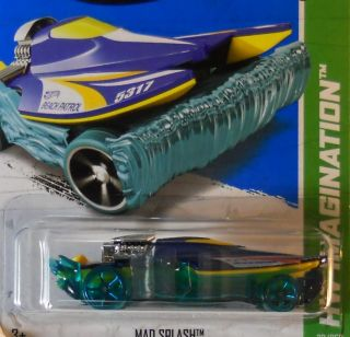 Hot Wheels 2013 HW Imagination Mad Splash A Case