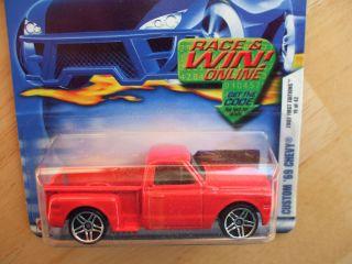 2002 Hot Wheels Custom 1969 Chevy Pickup