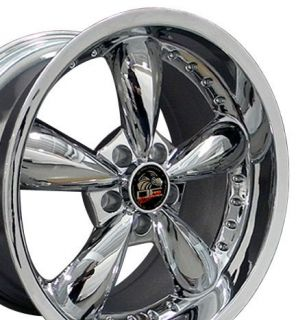 18 Rim Fits Mustang® Bullitt Wheel Chrome 18x10