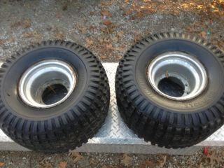 HONDA 200M 200E 200ES PAIR rear rims wheels tires CARLISLE 25 X 12 9