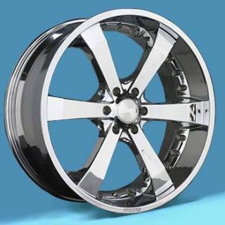 24 Chrome Momo St 1 Wheels Rims 6x5 5 6 Lug Chevy Chevrolet GM Truck