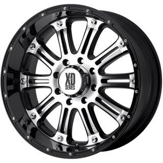 Hoss 5x5 0 Wrangler Suburban Safari Black Wheels Rims Free Lugs